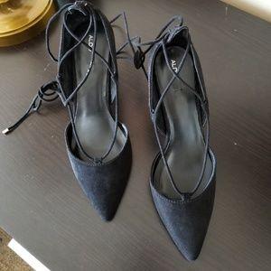 Aldo strappy shoes